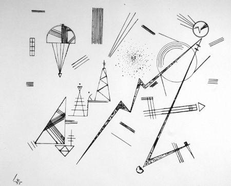 Litografía Kandinsky - Kreis der Freunde des Bauhauses