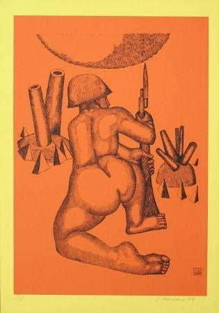 Litografía Hanko - Krieger (Warrior)