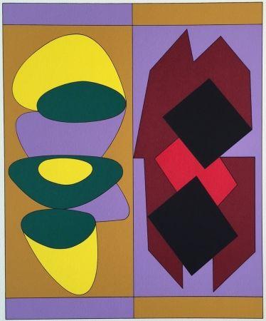 Serigrafía Vasarely - Kris Bille, from Ion Album