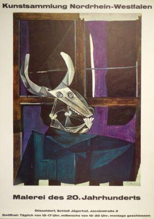 Cartel Picasso - Kunstsammlung Nordrhein-Westfalen. Malerei des 20. Jahrhunderts