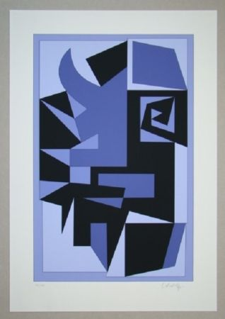 Serigrafía Vasarely - Kwartz