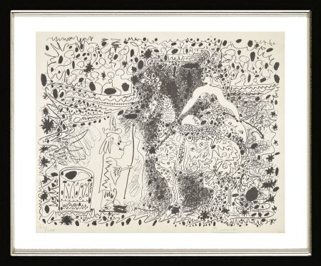 Litografía Picasso - L'Éyuyère, 1960