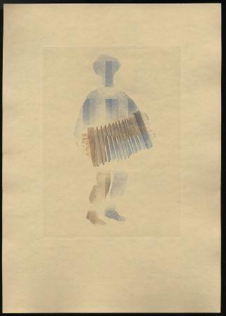 Libro Ilustrado Alexeïeff - Léon-Paul Fargue : POÈMES. Eaux-fortes en couleurs par Alexeïeff (1943)