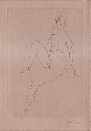 Libro Ilustrado Fini - L'épouse infidèle.  Poemes.  Deux eaux-fortes originales de Leonor Fini.