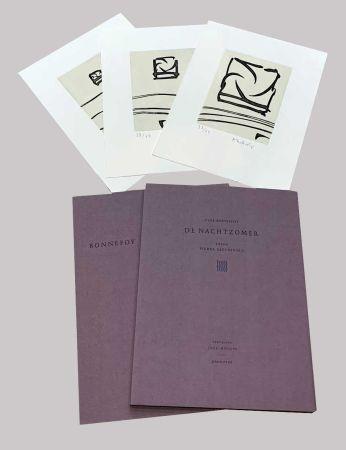 Libro Ilustrado Alechinsky - L'été de nuit