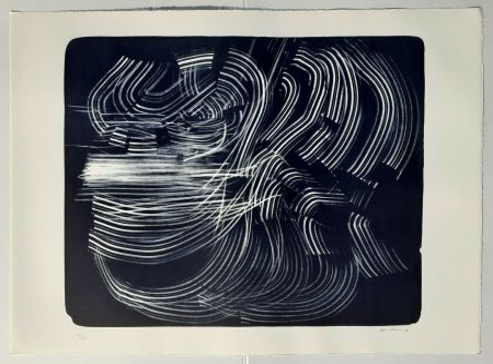 Litografía Hartung - L-10-1973