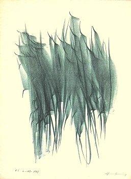 Litografía Hartung - L-119