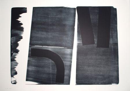 Litografía Hartung - L-15-1974