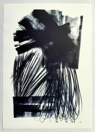 Litografía Hartung - L-17-1973