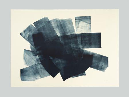 Litografía Hartung - L-18-1973
