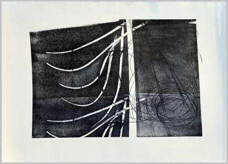 Litografía Hartung - L-38-1973