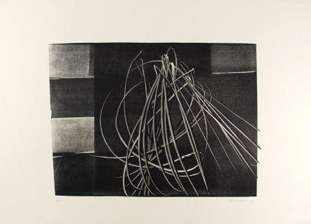 Litografía Hartung - L-4-1976