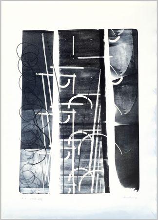 Litografía Hartung - L-49-1973