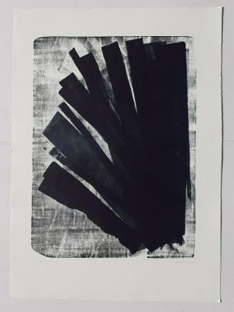 Litografía Hartung - L-58-1973
