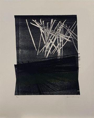 Litografía Hartung - L1977-13