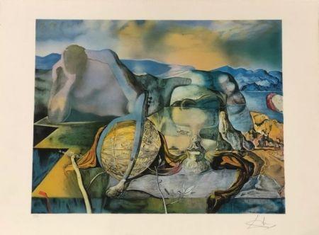 Litografía Dali - L' énigme sans fin