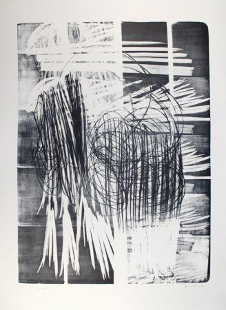 Litografía Hartung - L - 16B - 1974