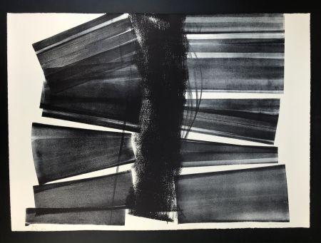 Litografía Hartung - L - 1974 - 21