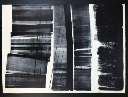 Litografía Hartung - L - 21 - 1974