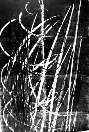 Litografía Hartung - L - 60