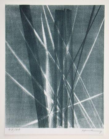 Litografía Hartung -  L 1966 - 40