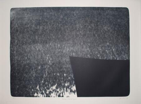 Litografía Hartung - L 1976-25:  Hommage à Eva Bergman