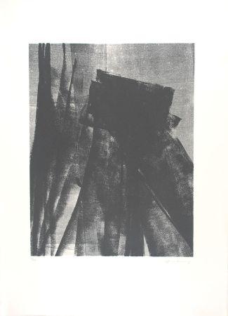 Litografía Hartung - L 1977-4