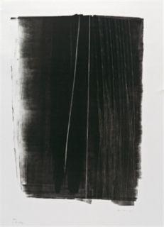 Litografía Hartung - L 46