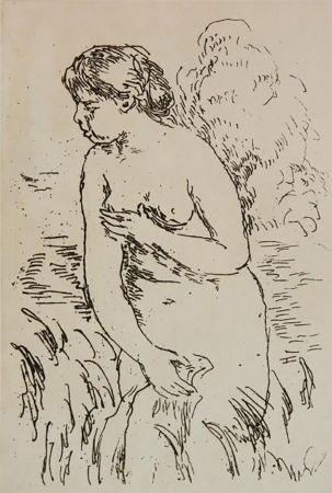 Grabado Renoir - La Baigneuse Debouta Mi-Jambes