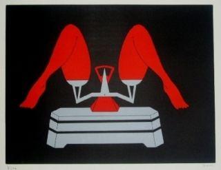 Litografía Marien - La balance