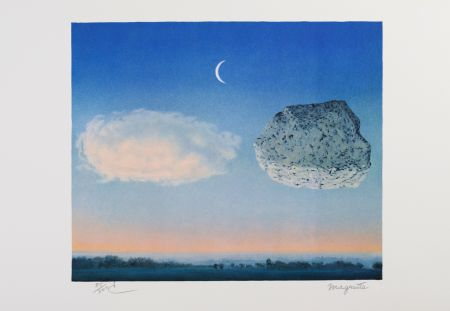 Litografía Magritte - La Bataille De L'Argonne (The Battle Of The Argonne)