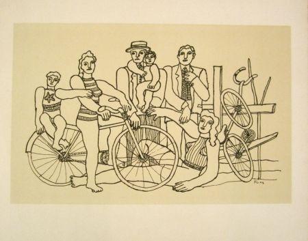 Litografía Leger - La belle équipe
