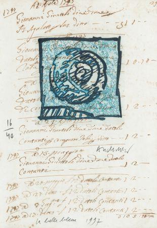 Grabado Alechinsky - La belle bleue