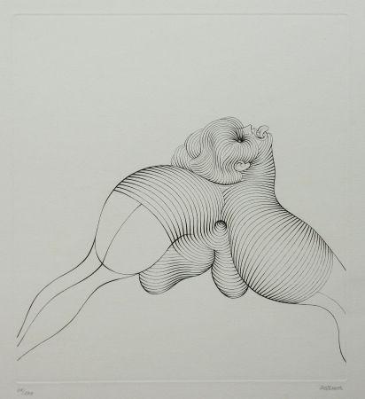 Aguafuerte Bellmer - La Céphalopode