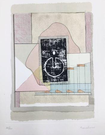 Litografía Bonalumi - La casa del vento