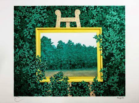 Litografía Magritte - La Cascade