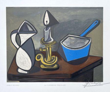 Grabado En Madera Picasso (After) - La casserole émaillée