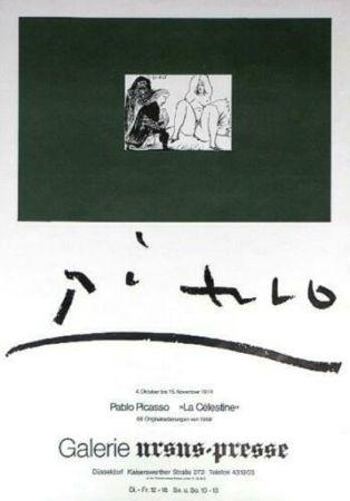 Cartel Picasso - '' La Celestine ''  Galerie Ursus Presse
