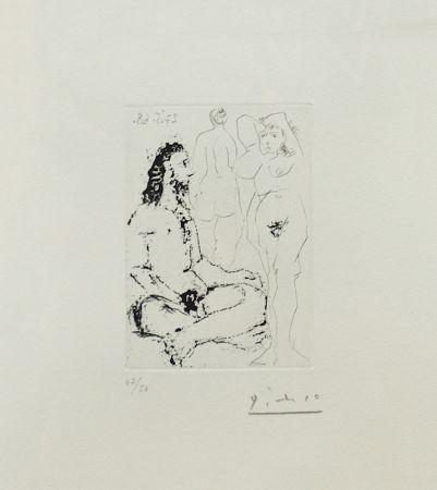 Grabado Picasso - La Celestine Plate 25