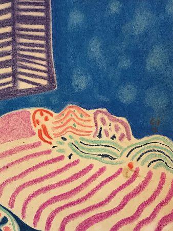 Sin Técnico Amiet - La Chambre à coucher (1919)