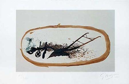 Litografía Braque - La charrue
