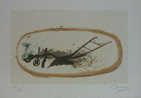 Litografía Braque - La Charrue (el arado)