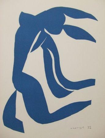 Litografía Matisse - La chevelure