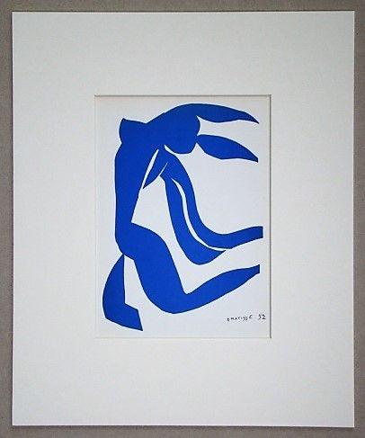Litografía Matisse - La chevelure - 1952