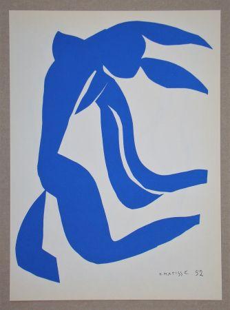 Litografía Matisse (After) - La Chevelure - 1952