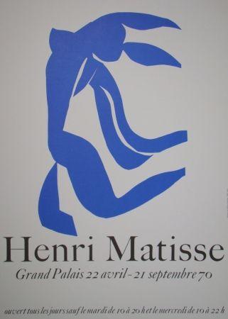 Cartel Matisse - La Chevelure - Grand Palais