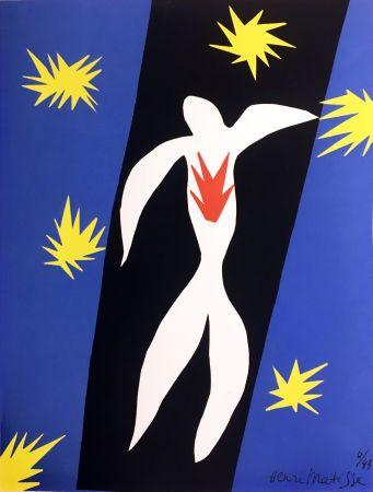 Litografía Matisse - LA CHUTE D'ICARE (Pour la revue Verve n°13, 1945)