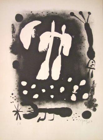 Litografía Miró - La clé des champs