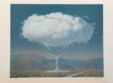 Litografía Magritte - La Corde Sensible