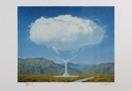 Litografía Magritte - La Corde Sensible (Heartstring)